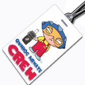 Quahog Airways Stewie Crew Tag